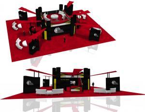 HELI-Expo-HAI Booth